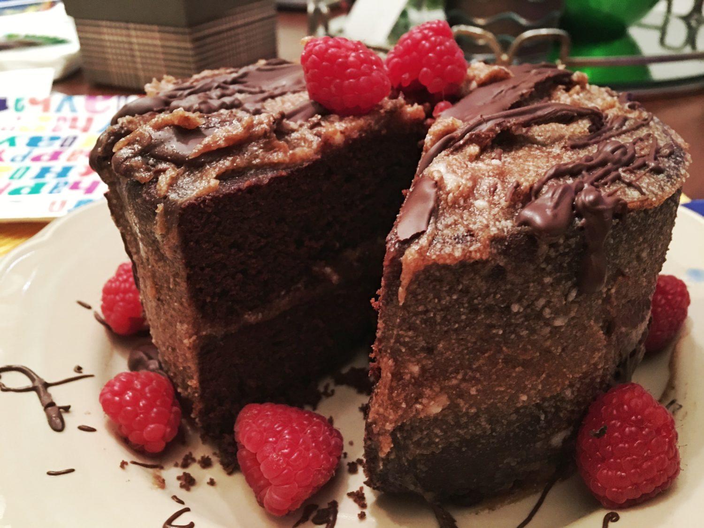 Gluten-Free, No Added-Sugar German Chocolate Cake