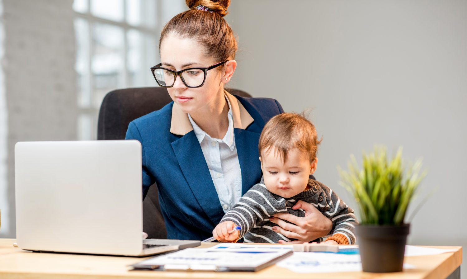 The Struggle Of Returning To Work After Maternity Leave